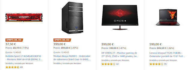 Top 15 ofertas Semana de Gaming de Amazon