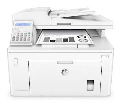 fdn printer is conveniently located inwards the smallest business office HP LaserJet Pro M227fdn Driver Download