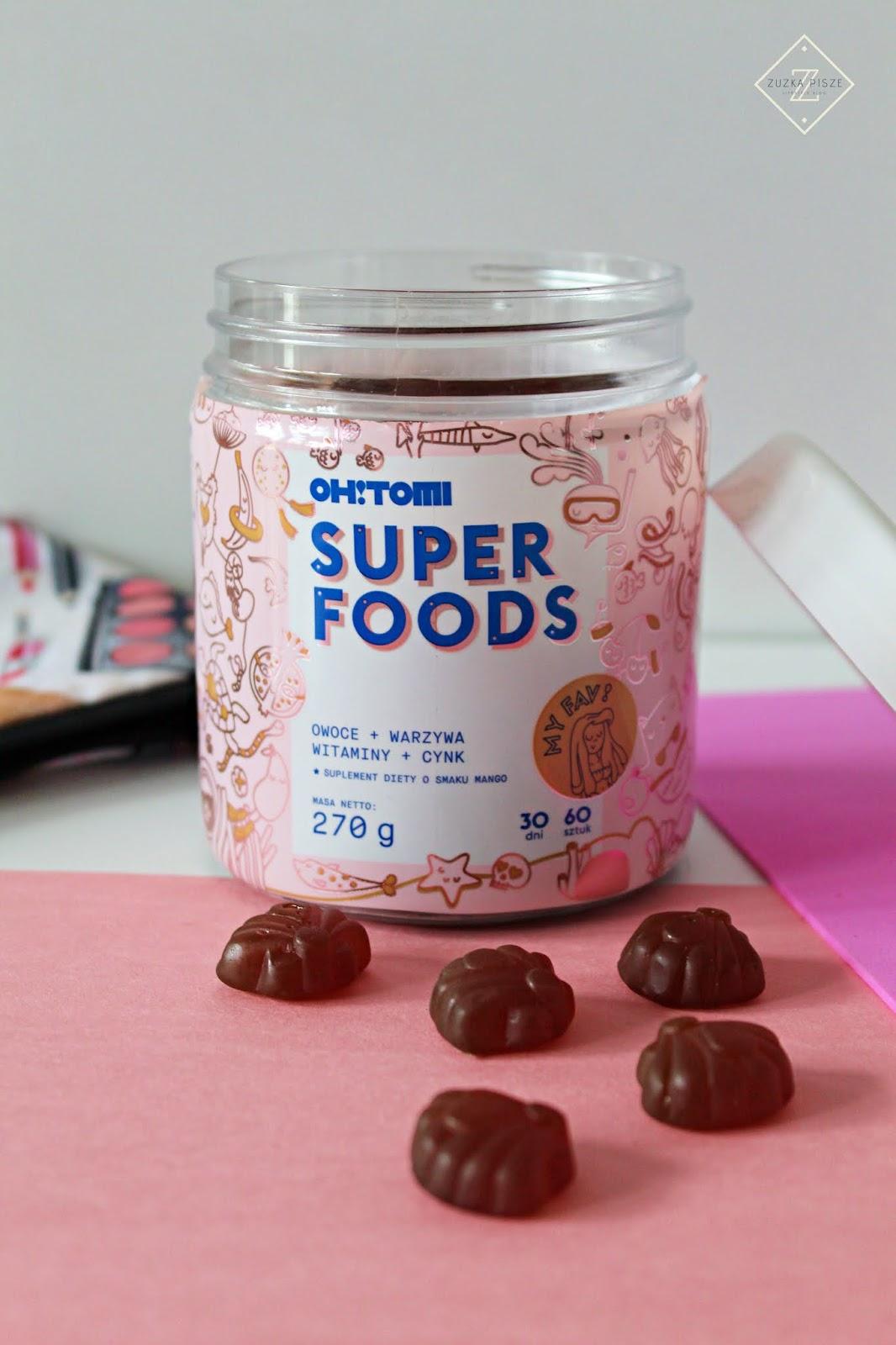 Witaminy w żelkach – Codzienna porcja składników odżywczych dla zdrowia i urody - OH!TOMI SuperFoods