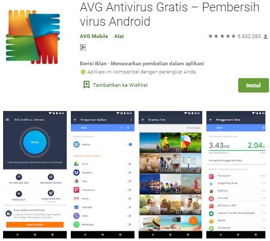 Antivirus Terbaik Untuk Android - AVG AntiVirus