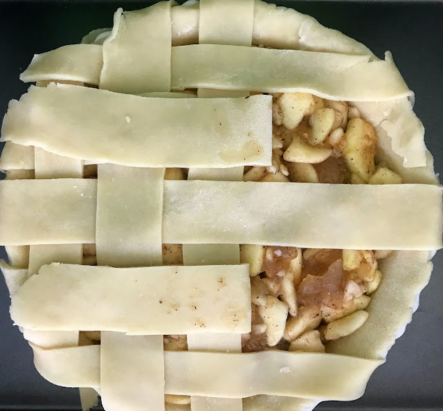 apple pie lattice design