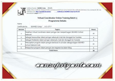Virtual Coordinator Training Batch 5 Jateng-DIY