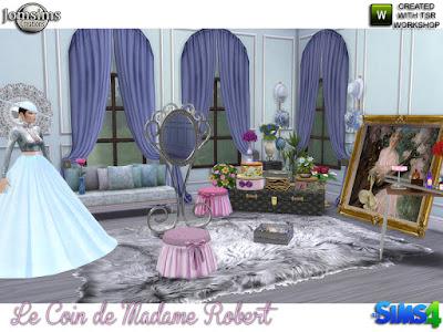 Французский стиль — наборы мебели и декора для Sims 4 со ссылками для скачивания