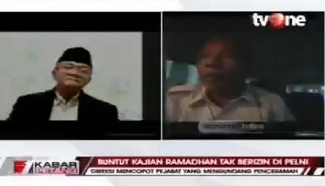VIRAL... Dialog TvOne, Komisaris Pelni Yang Batalkan Pengajian KASAR dan TAK PUNYA ADAB Kepada KH Anwar Abbas dari MUI