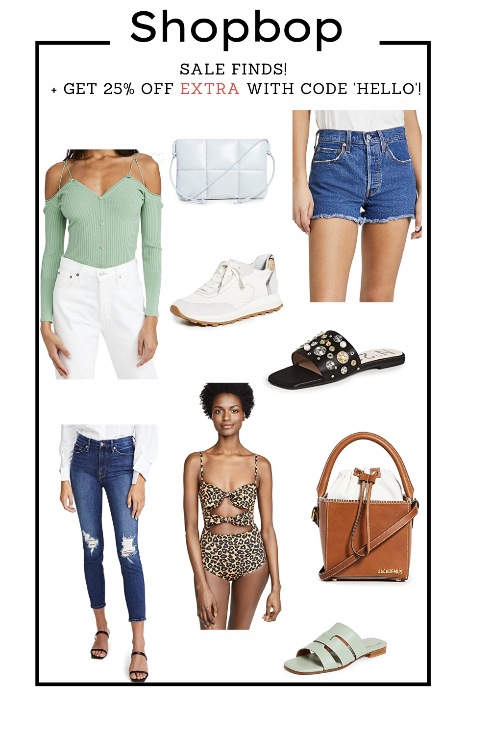Favorite Picks of the Shopbop sale section plus an additional 25% off!