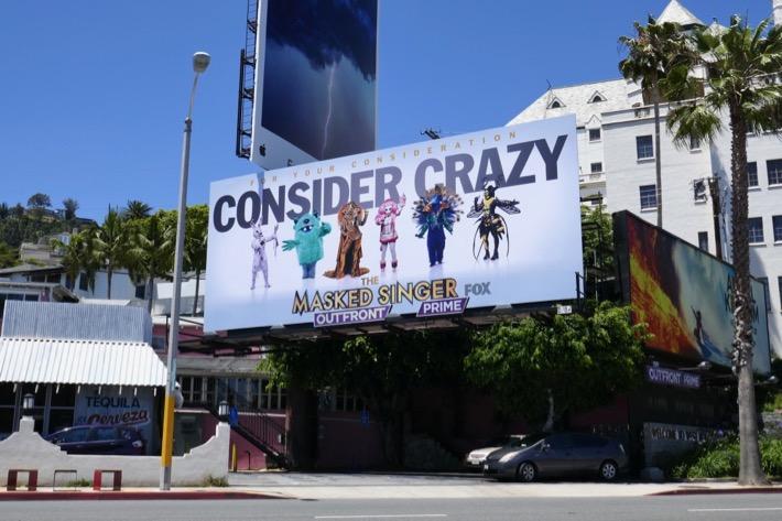 Masked Singer season 1 Emmy FYC billboard