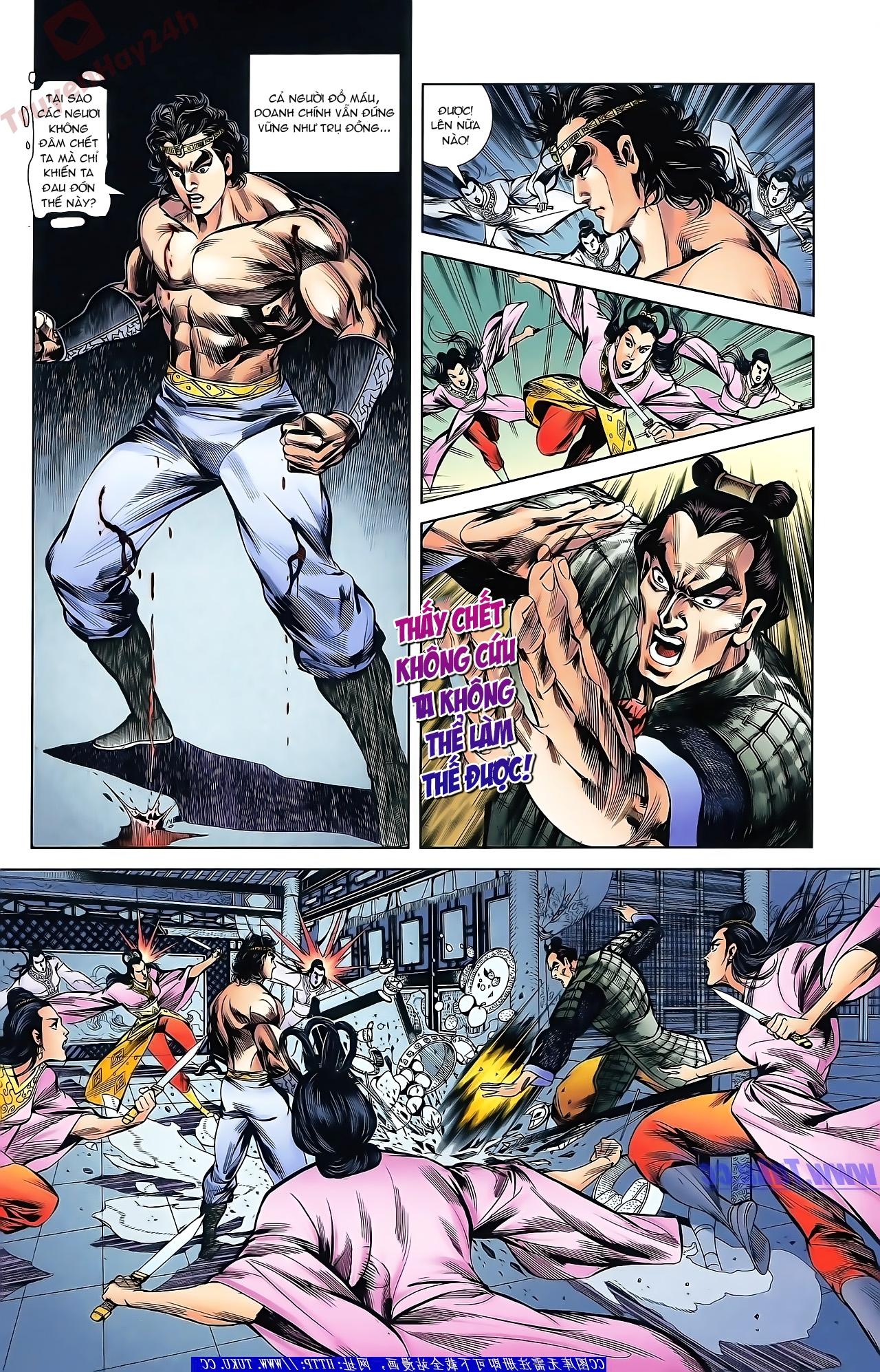 Tần Vương Doanh Chính chapter 43 trang 12
