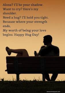 Happy Hug Day Wishes to send your loved ones