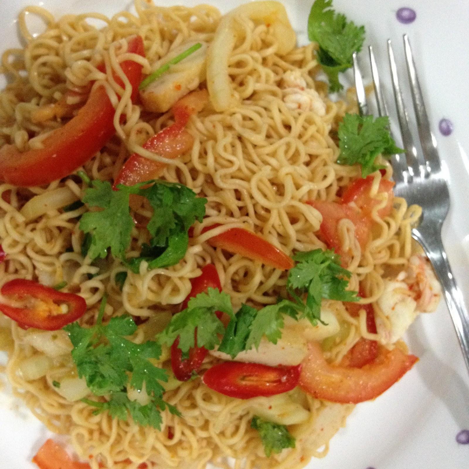 Resepi Kerabu Maggi Thai Original