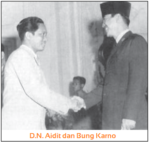 Kehidupan Politik Sebelum G 30 S PKI - D.N. Aidit dan Bung Karno