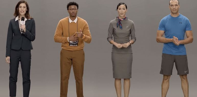 """Samsung Neon - when a """"digital"""" person is indistinguishable from the present"""