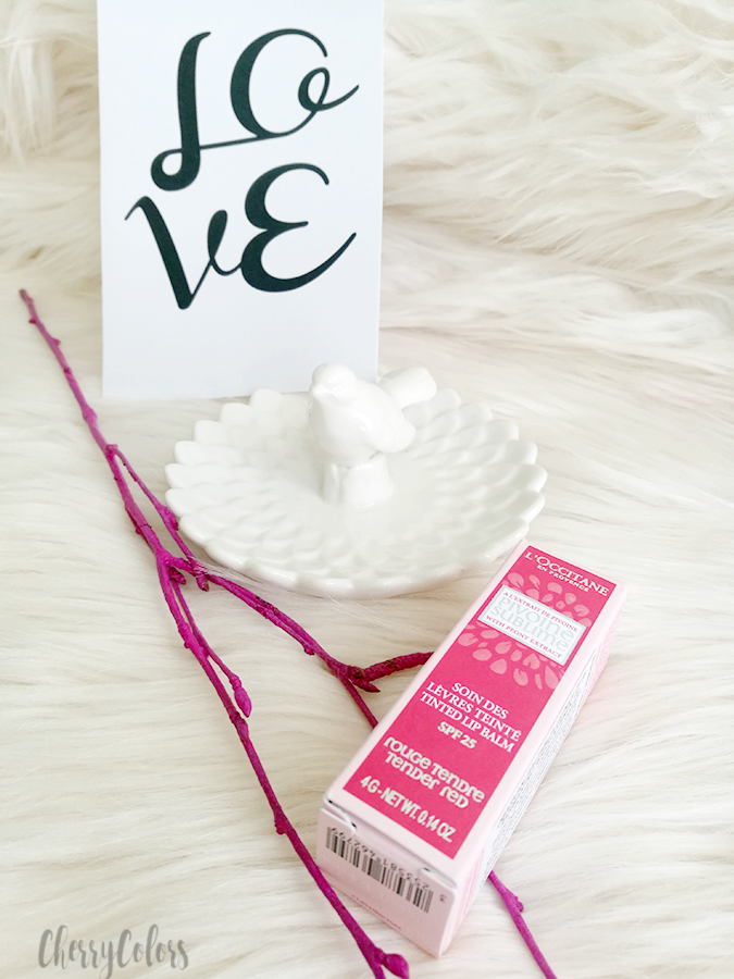 L'Occitane Pivoine Sublime Tinted Lip Balm