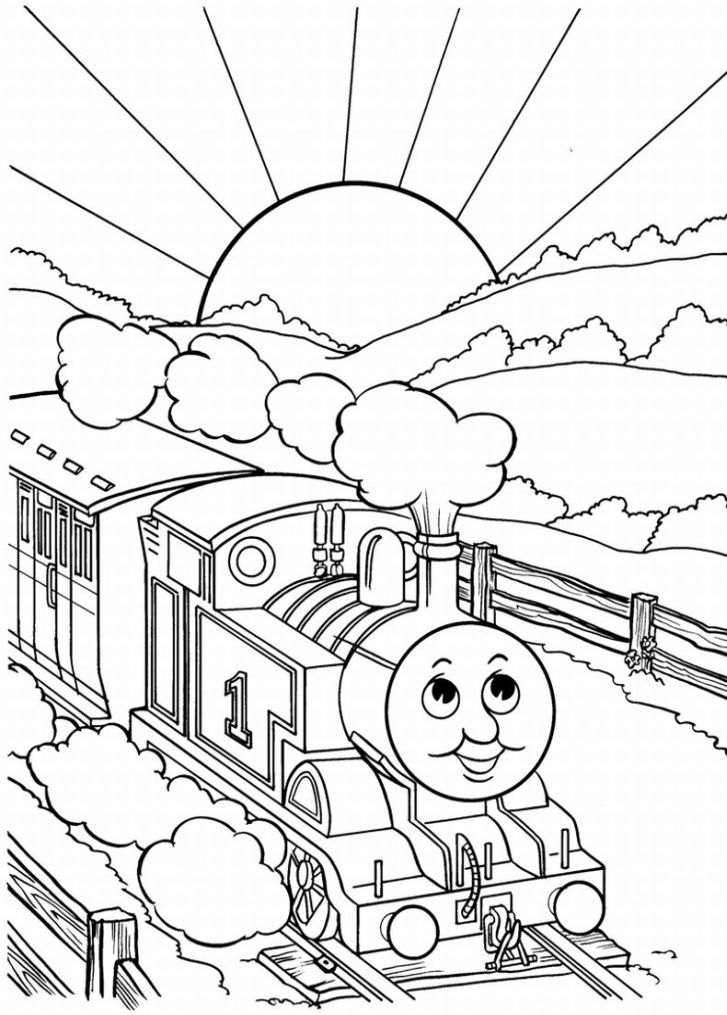 Thomas the Tank Engine Coloring Pages | Team colors