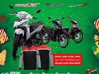 Promo Honda Wonderful Desember 2019 Supra X, Revo Fit dan Revo X Bersama FIF Group Pontianak