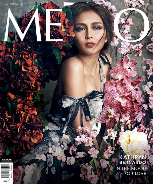Kathryn Bernardo Metro February 2016 Cover