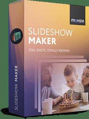 Movavi Slideshow Maker 6.3 poster box cover