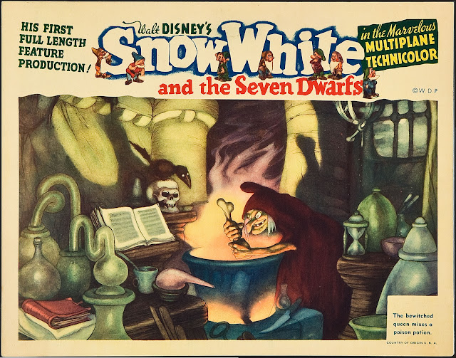 Filmic Light - Snow White Archive: 1938 US Snow White ...