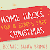 25 Home Hacks For A Stress Free Christmas #infographic