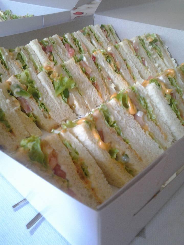 tempahan sandwich