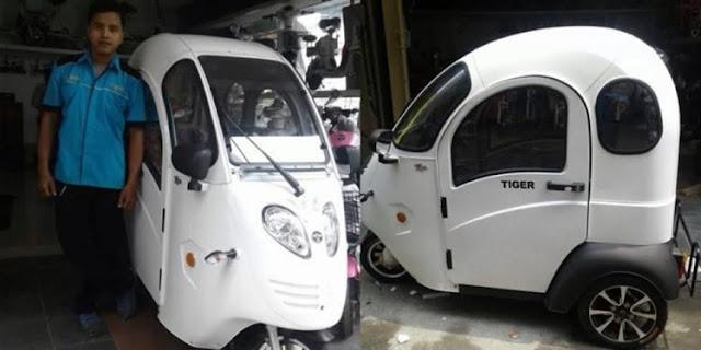 Motor Listrik Roda Laku Keras, Kata Penjual Barang di Tanjung Perak
