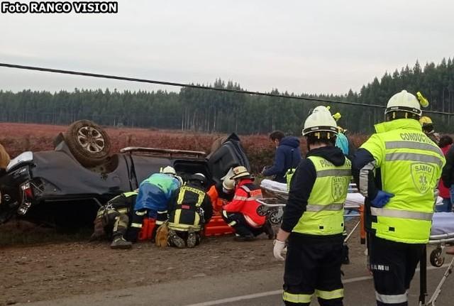 La Unión: accidente de tránsito deja tres lesionados
