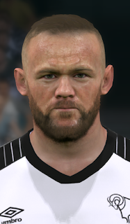 PES 2017 Faces Wayne Rooney by WER