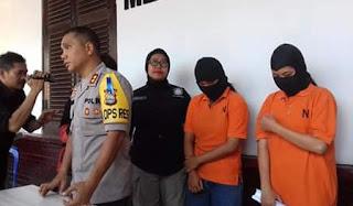 pengeroyok guru akhirnya ditahan
