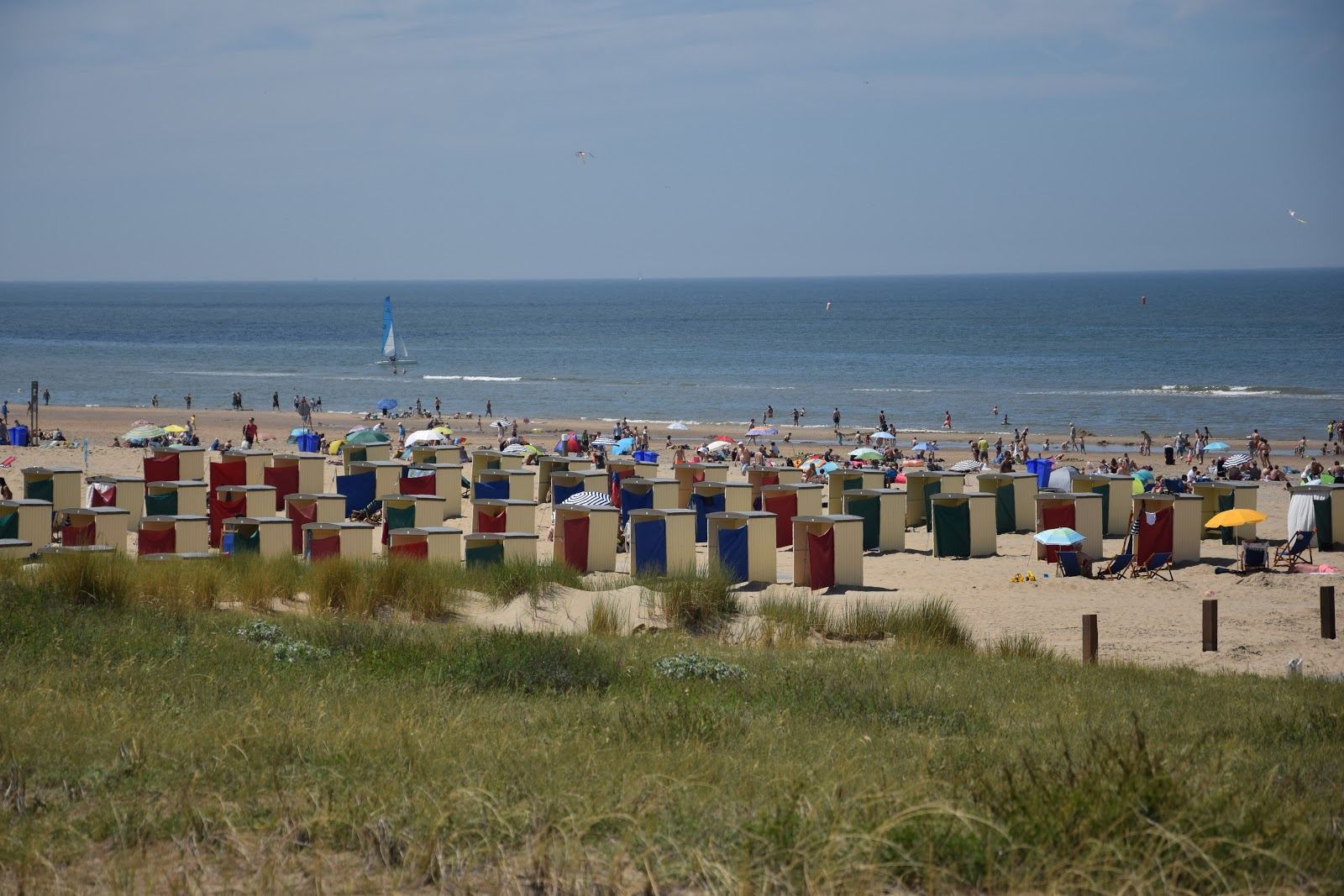 Holandia Katwijk plaża