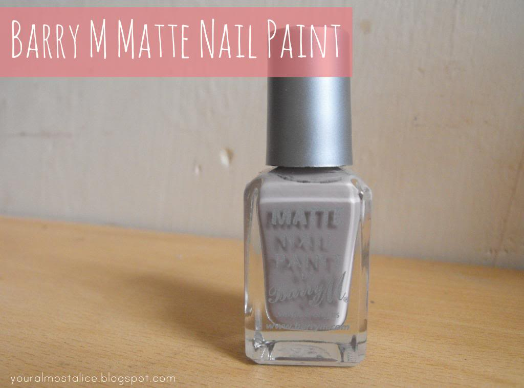 Barry M Matte Nail Paint in Vanilla