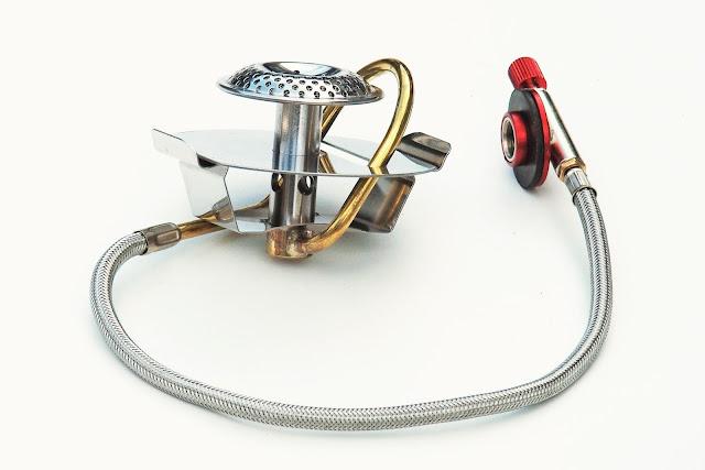 Alternativ gasbrännare för Trangiakök