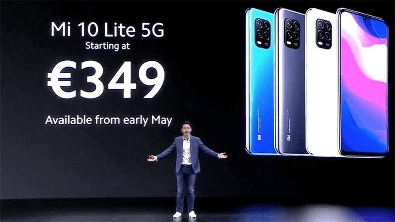 EUR 349 5G phone!