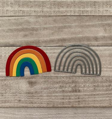 My Favorite Things Rainbow Die