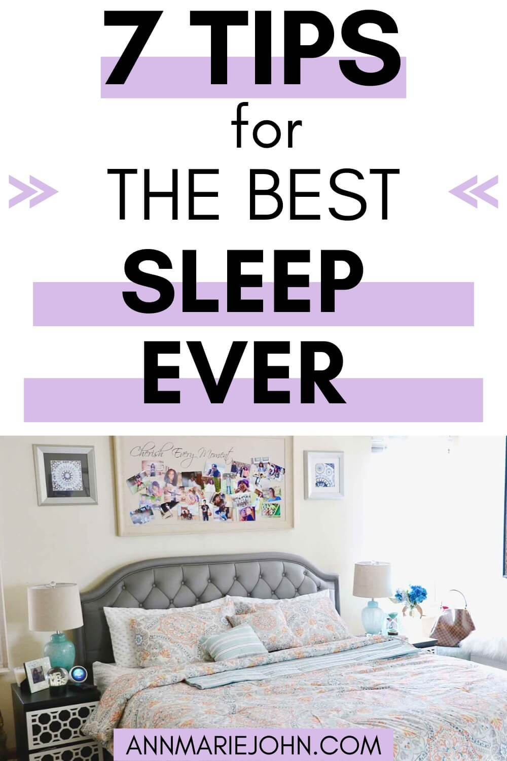7 tips for the best sleep ever