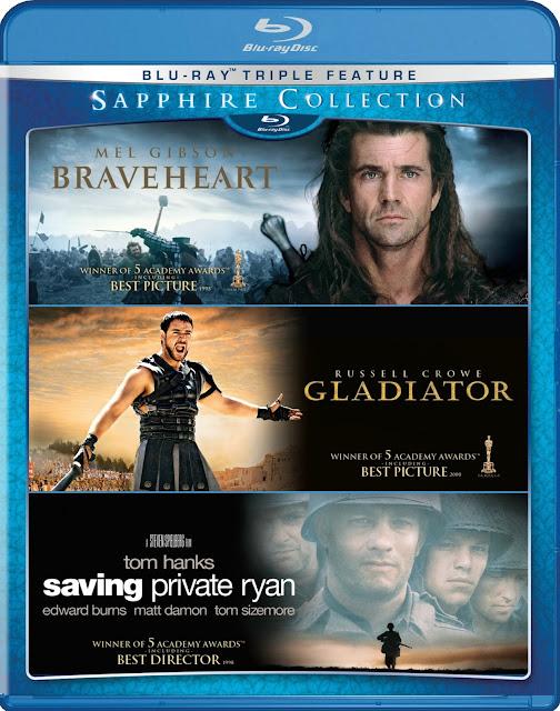 The Sapphire Trilogia Gladiador Corazón Valiente y Rescatando al soldado Ryan BRRip Latino