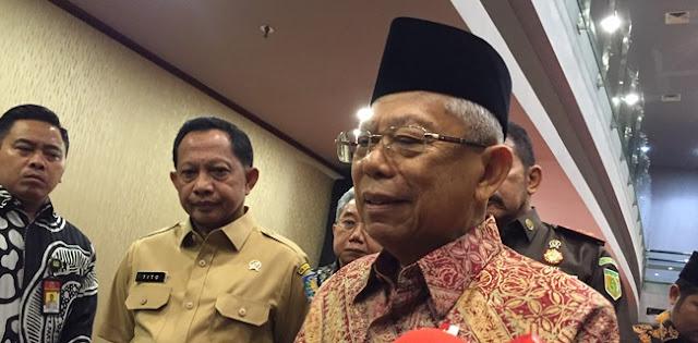 Tanggapi Teror Bom, Wapres Maruf Amin Minta RT RW Ikut Turun Tangan