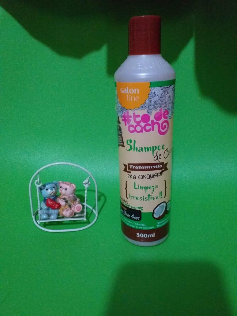 Resenha: Shampoo de coco salon line