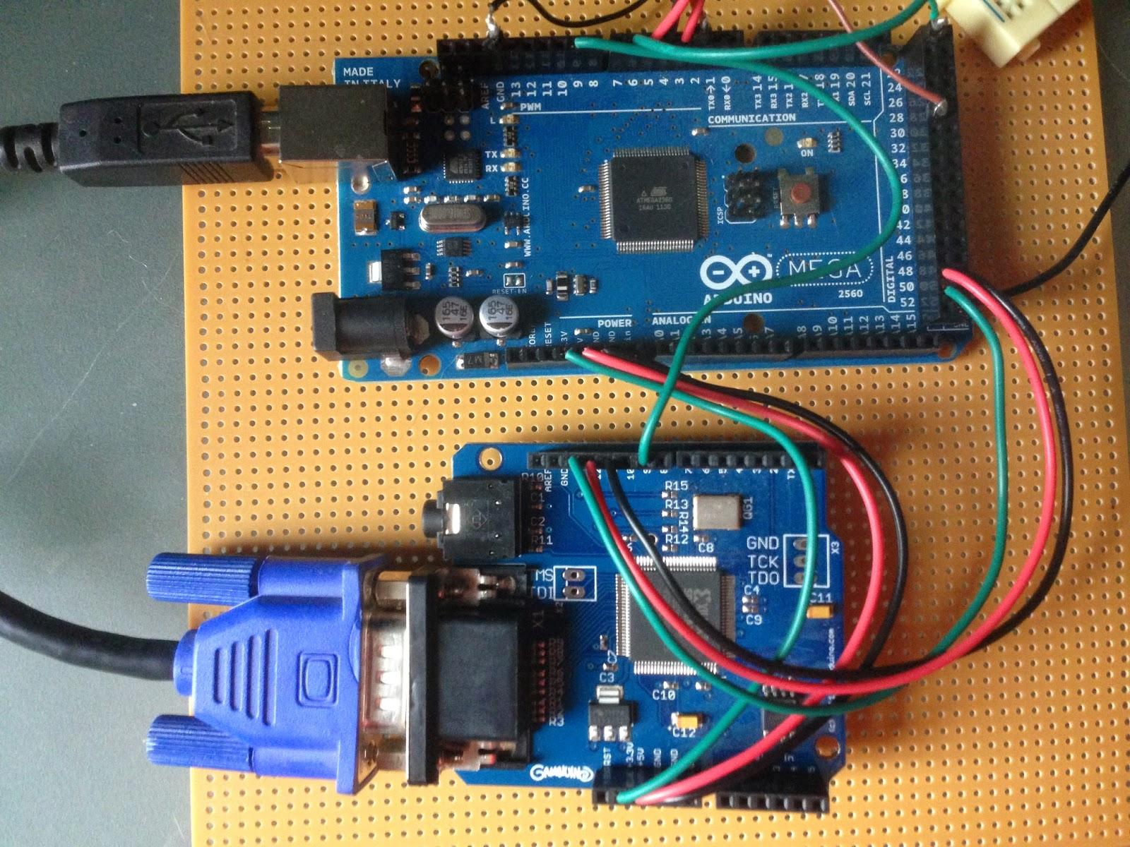 Clint's Projects: Arduino Retro Computer: Gameduino