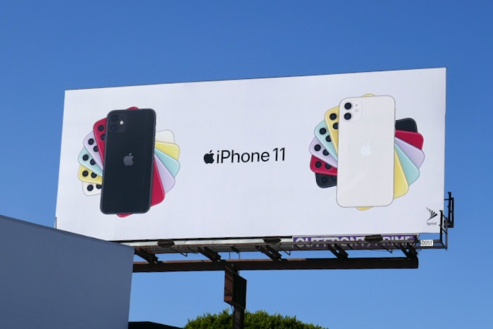 Apple iPhone 11 billboard