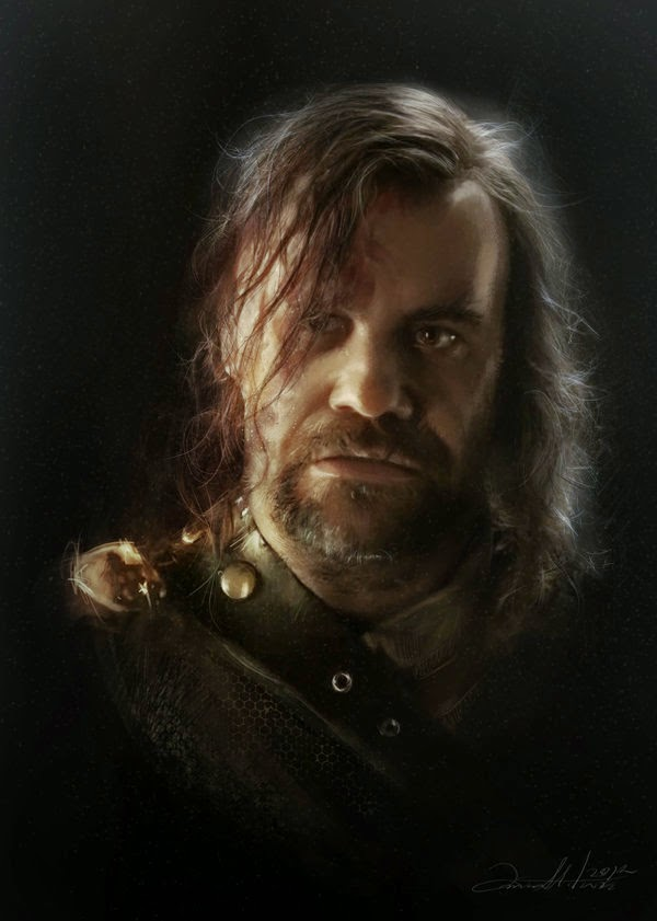 12-Sandor-The-Hound-Clegane-Ania Mitura-GoT-Game-of-Thrones-Digital-Paintings-www-designstack-co
