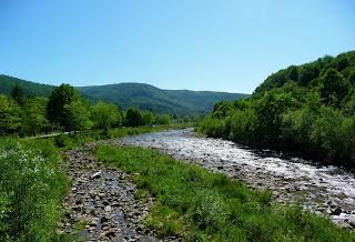 Река Мизунка. Ивано-Франковская область