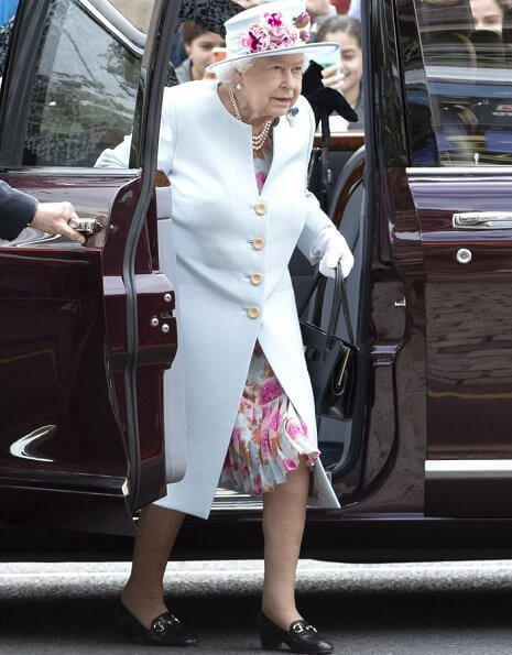 "Queen Elizabeth came to Holyrood Palace for ""Holyrood Week 2019"" on Friday. Holyrood Week or Royal Week"