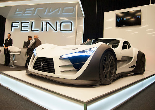 Canadian Felino CB7 Supercar Revealed in 2014 Montreal Auto Show