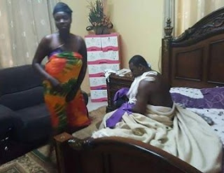 Senior Pastor Caught Pant Down With Married Woman On Matrimonial Bed, See Photos