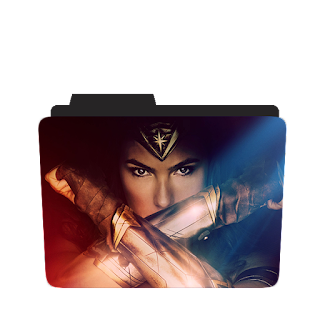 Wonder Woman movie Folder icon