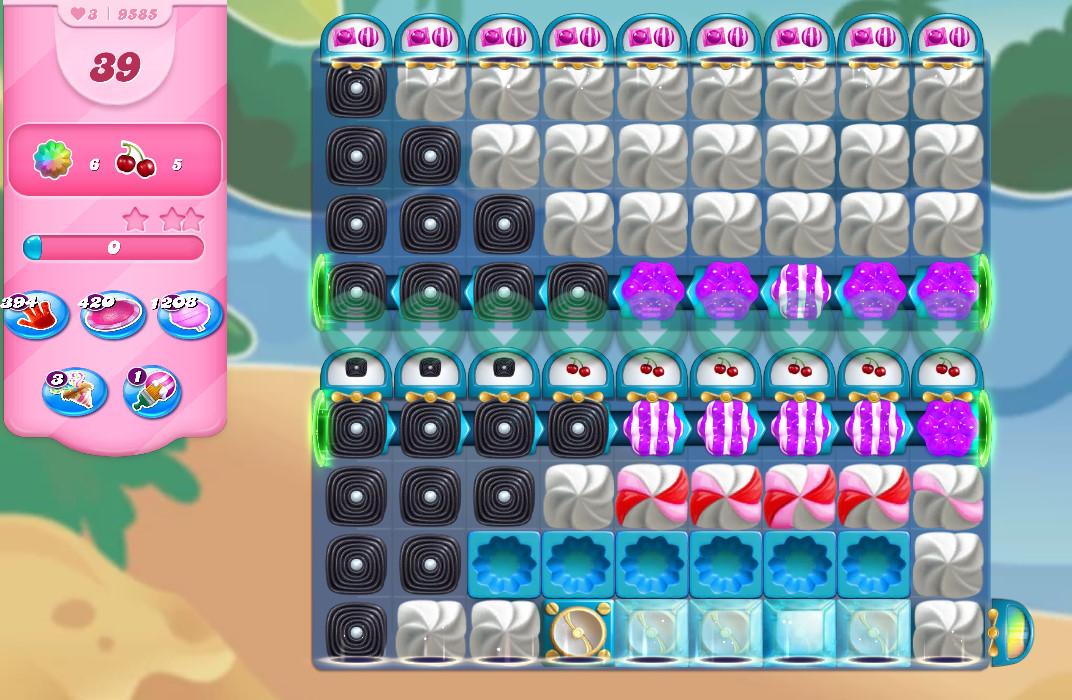 Candy Crush Saga level 9585