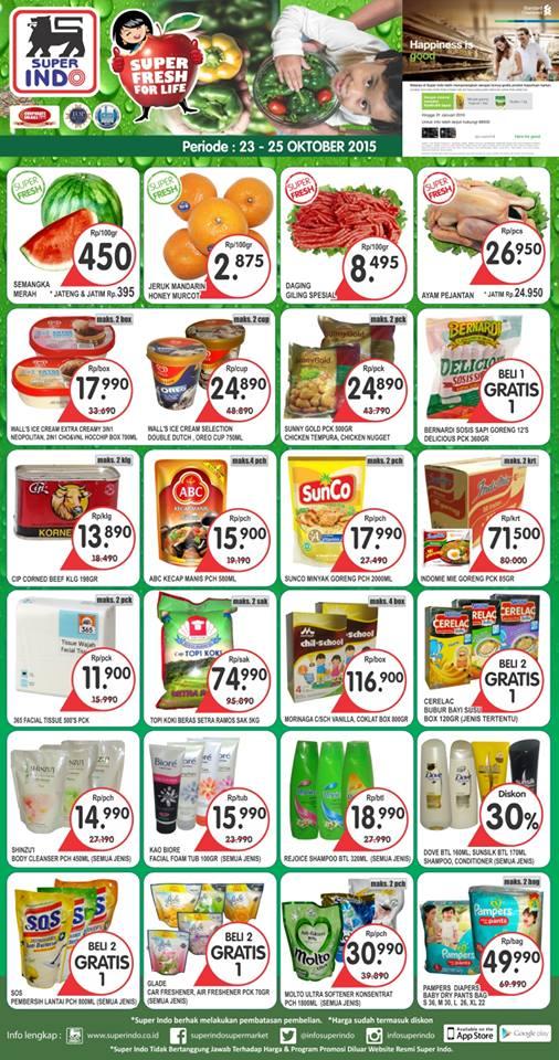 Katalog Harga dan Katalog Promo JSM Superindo
