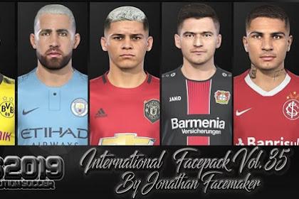International Facepack Vol 35 - PES 2019