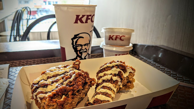 Menu Baru Daripada KFC White BBQ Crunch Sedap, Tapi Spoil Sikit La