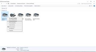Cara Merubah Font Pada Printer Dot Matrix Epson LX 300, LX 310+II atau LX 310