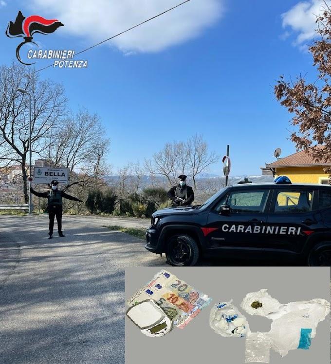 Droga a Bella (Pz): 32enne arrestato per detenzione e spaccio